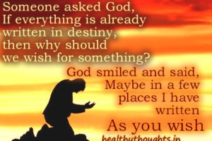 What If God Fulfilled A Wish Everyday?