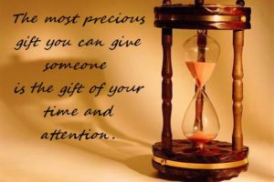 Giving Your Time – A Tough Task?